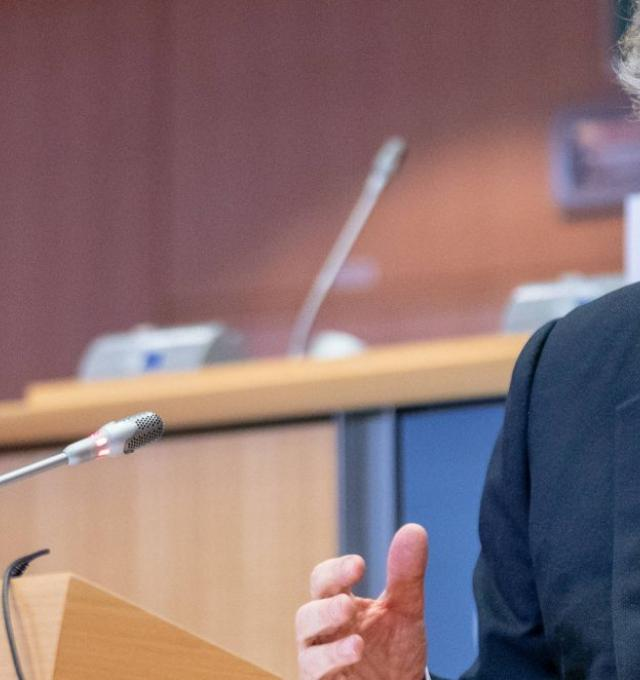 Thierry Breton in het Europees Parlement. foto: European Parliament from EU [CC BY 2.0]